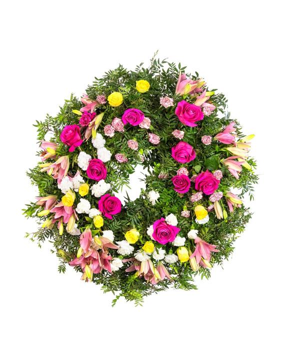 Corona de flor variada B