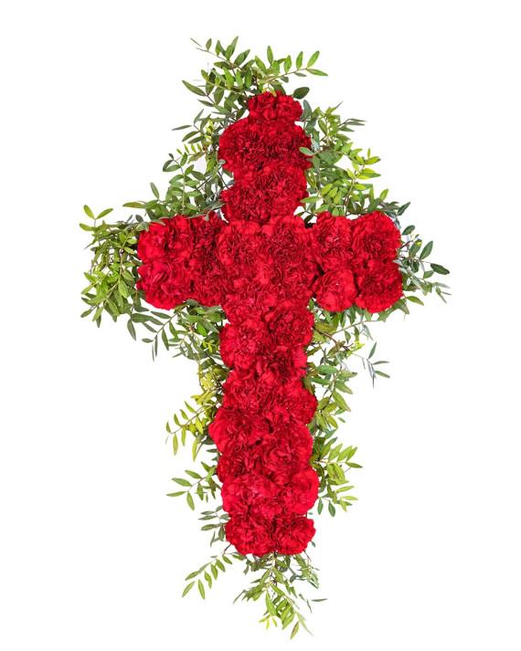 Cruz de rosas (26u)