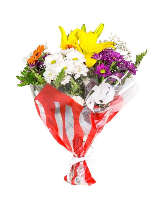 Bouquet de flores variadas